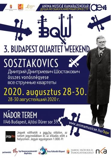 Budapest Quartet Weekend 2020