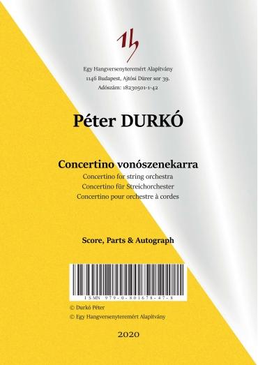 Concertino vonószenekarra