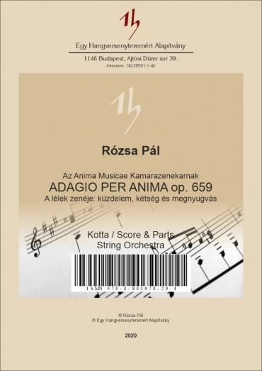 Adagio per Anima op. 659