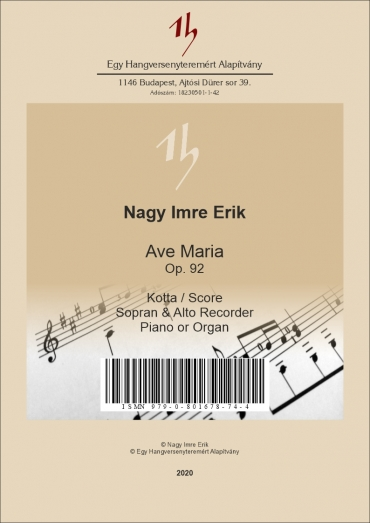 Ave Maria Op. 92