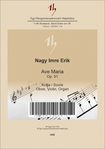 Ave Maria Op. 91