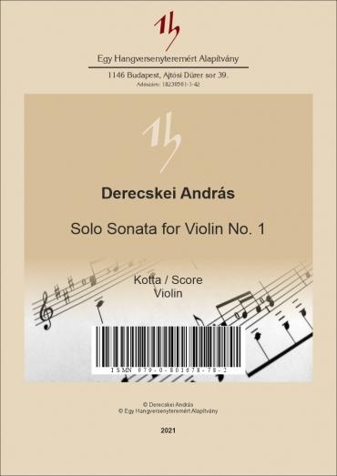 Solo Sonata for Violin No.1
