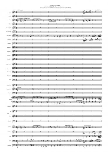 Karácsonyi ének - vegyeskarra és szimfonikus zenekarra (kóruskantáta)