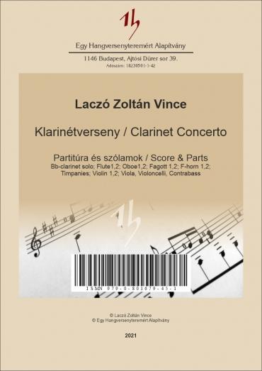 Clarinet Concerto - Score &...