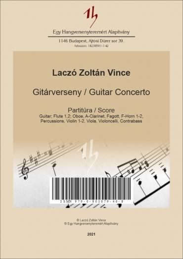 Gitárverseny – partitúra