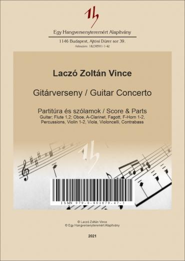 Guitar Concerto – Score &...
