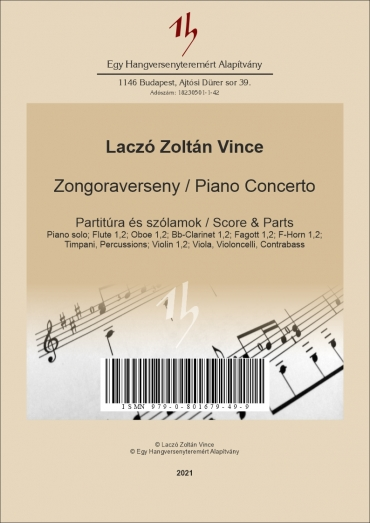 Piano Concerto – Score & Parts